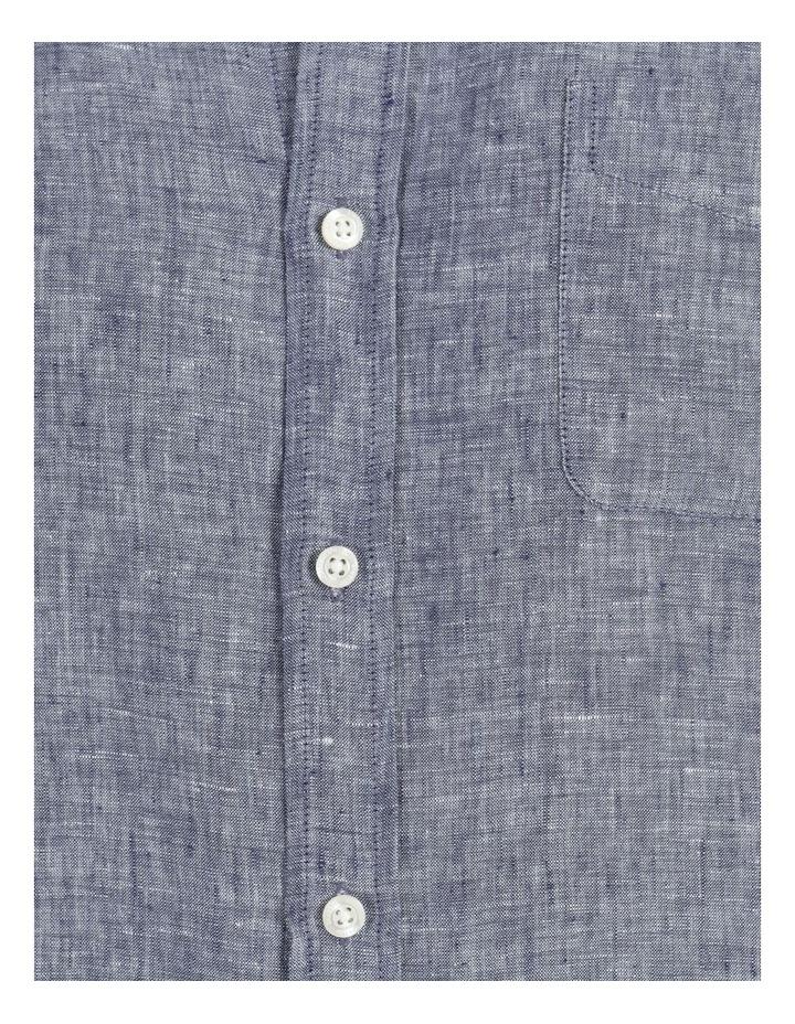 Bodega Linen Button Down Short Sleeve Shirt image 6