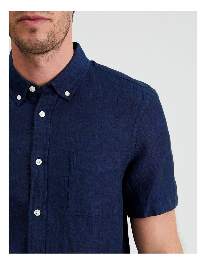 Bodega Linen Button Down Short Sleeve Shirt image 5