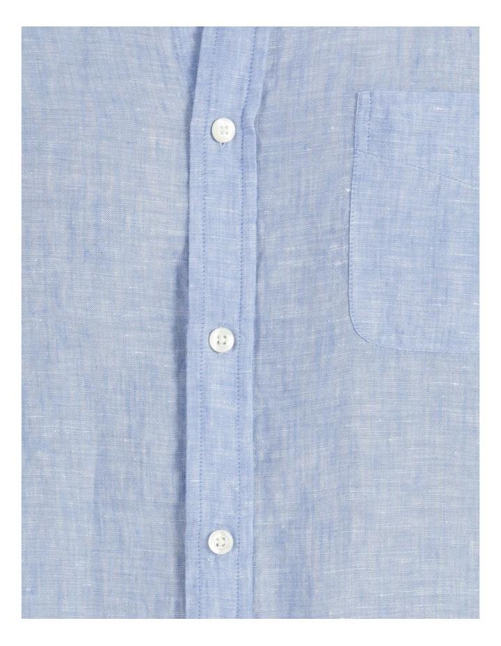 Bodega Linen Regular Collar Long Sleeve Shirt image 7