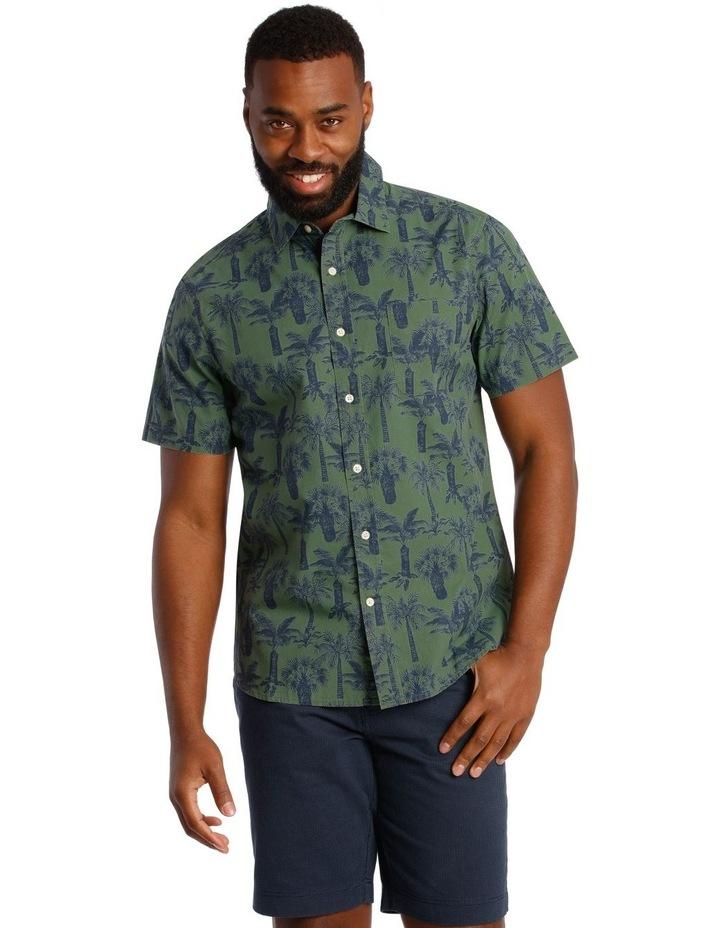 Palmeraie Print Short Sleeve Shirt image 1