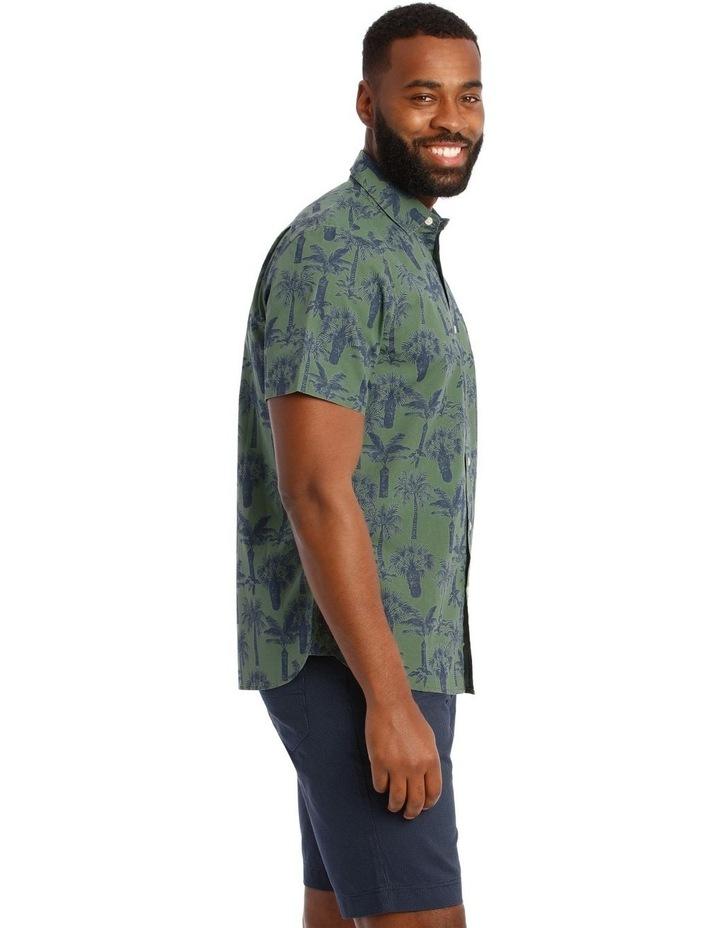 Palmeraie Print Short Sleeve Shirt image 2