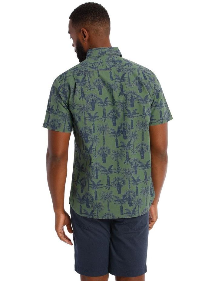 Palmeraie Print Short Sleeve Shirt image 3