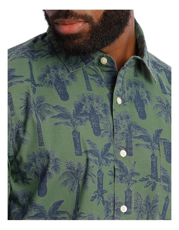 Palmeraie Print Short Sleeve Shirt image 4