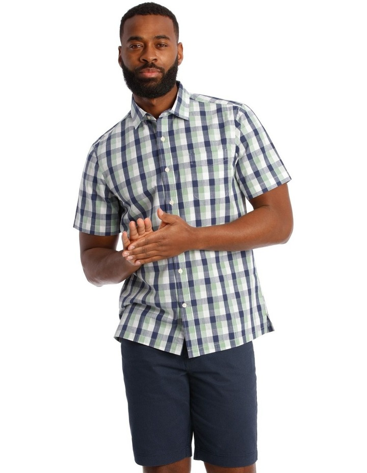 Casablanca Check Short Sleeve Shirt image 1