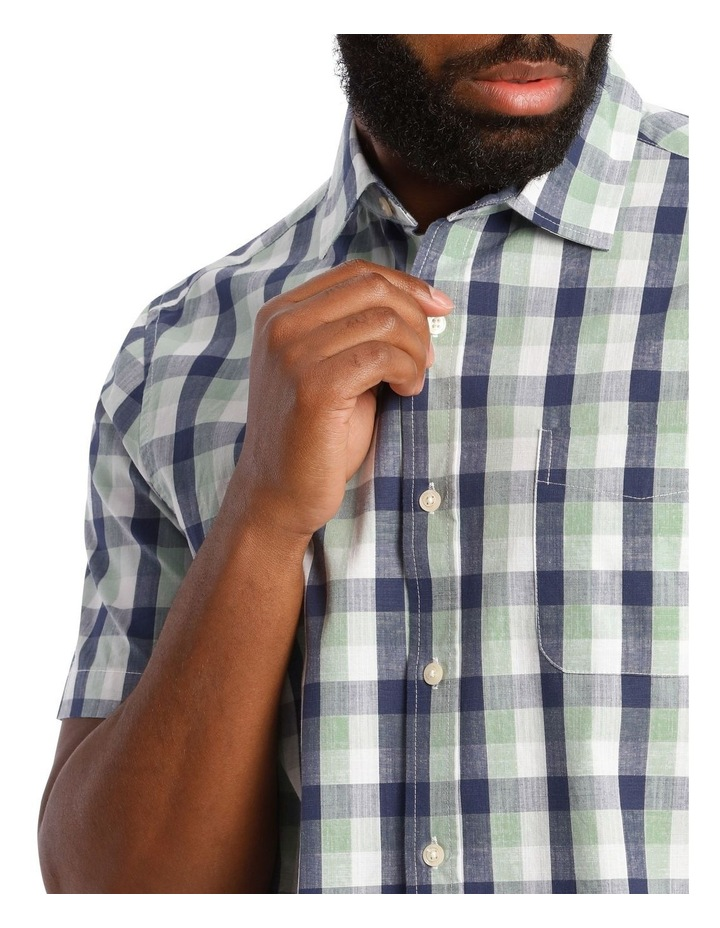 Casablanca Check Short Sleeve Shirt image 4
