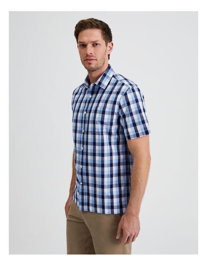 Casablanca Check Short Sleeve Shirt image 2