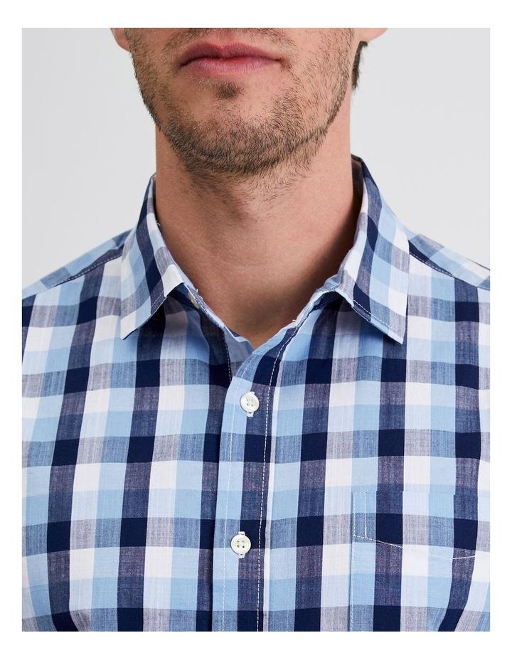 Casablanca Check Short Sleeve Shirt image 5
