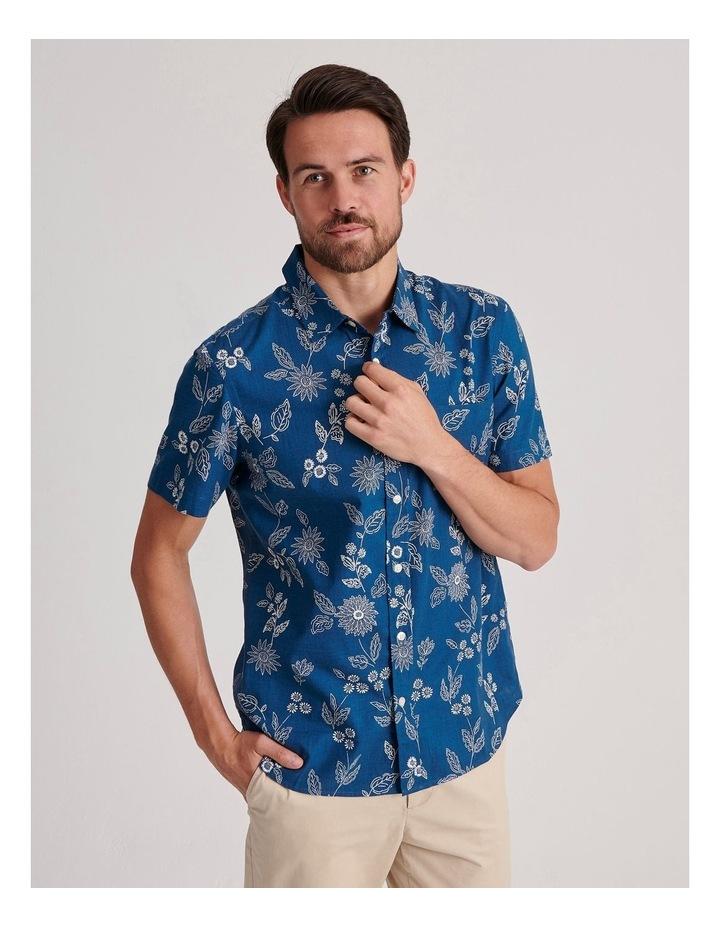 Marrakech Floral Print Short Sleeve Shirt image 1