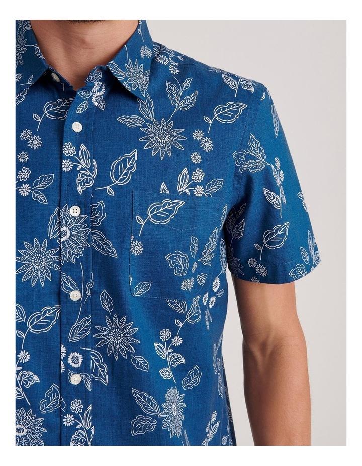 Marrakech Floral Print Short Sleeve Shirt image 5