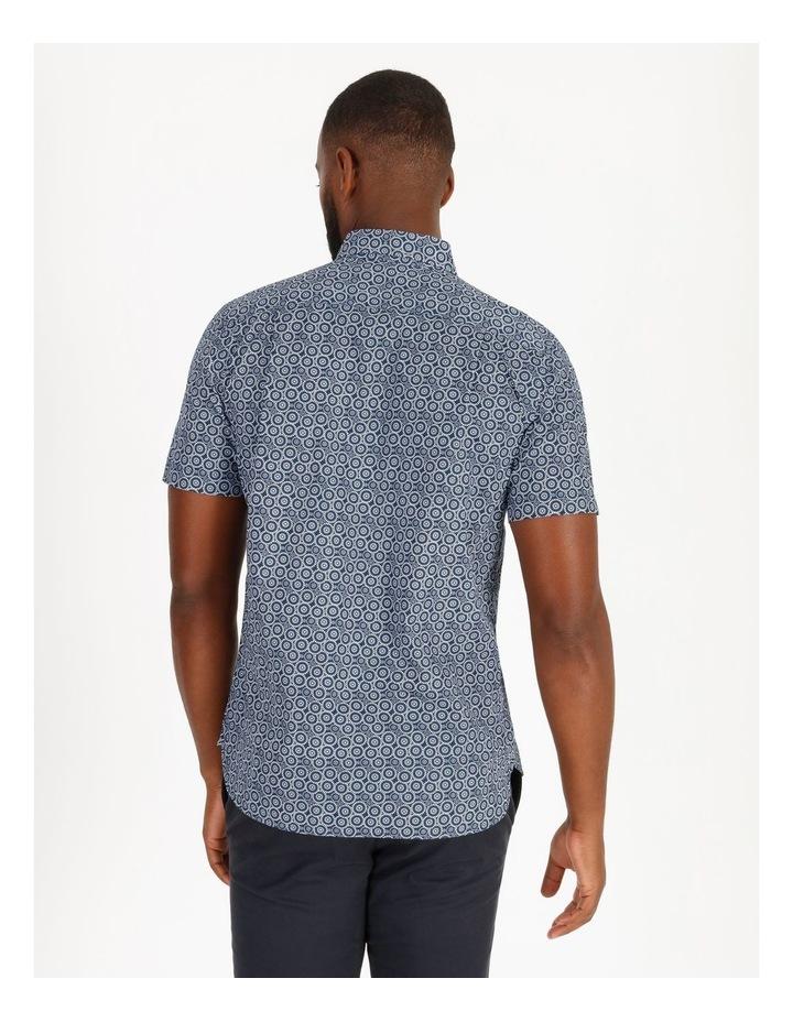 Gibson Short-Sleeve Floral Circle Print Shirt image 3