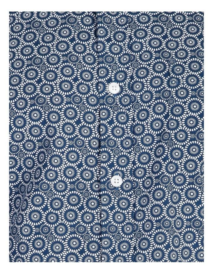 Gibson Short-Sleeve Floral Circle Print Shirt image 5