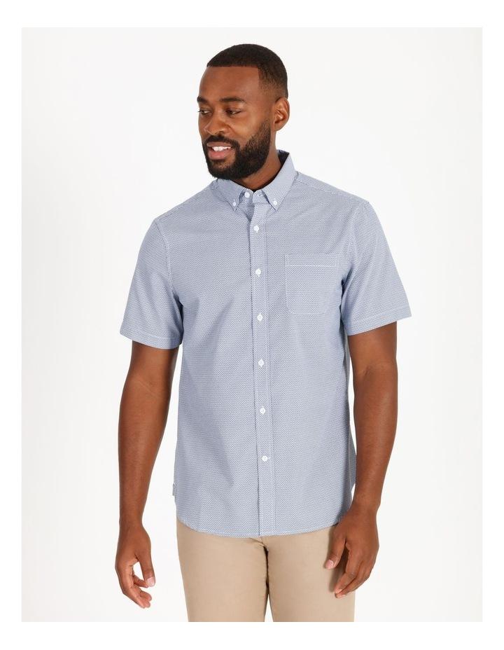 Coltrane Short-Sleeve Geometric Print Shirt image 1
