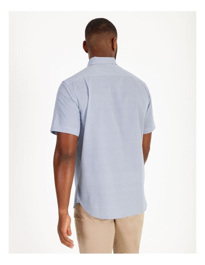 Coltrane Short-Sleeve Geometric Print Shirt image 3