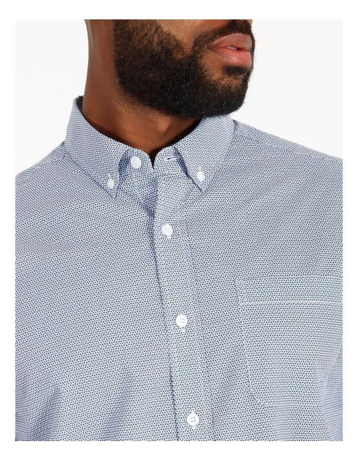 Coltrane Short-Sleeve Geometric Print Shirt image 4