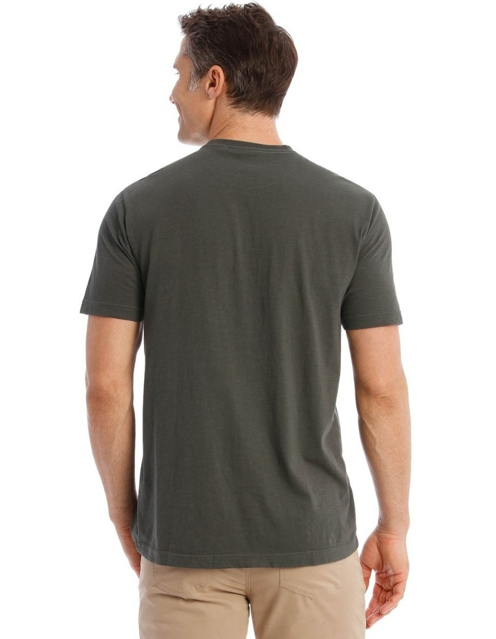 Ashford Graphic T-Shirt in Charcoal image 3