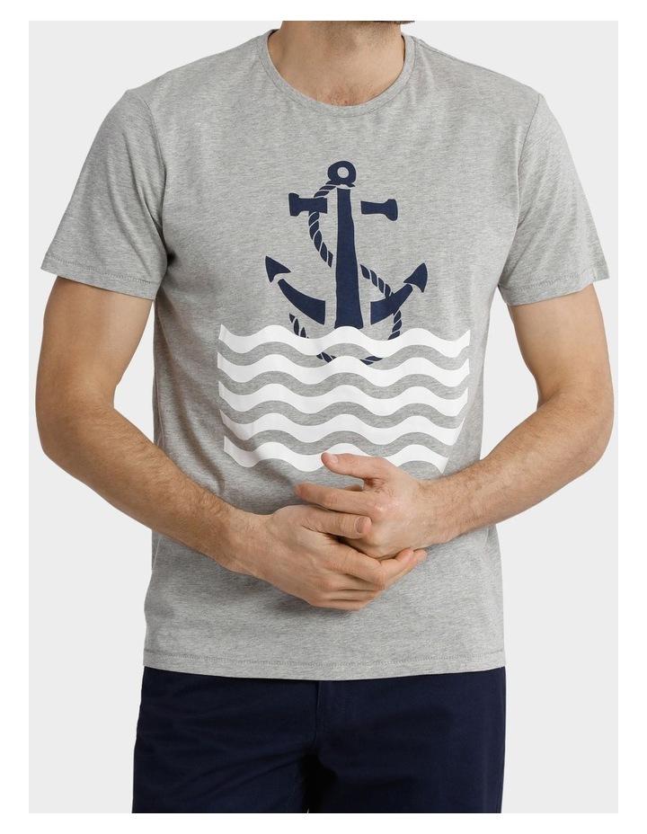 Short Sleeve Crew Neck Print Tee image 1