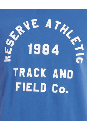 Reserve - Track And Field Print Tee