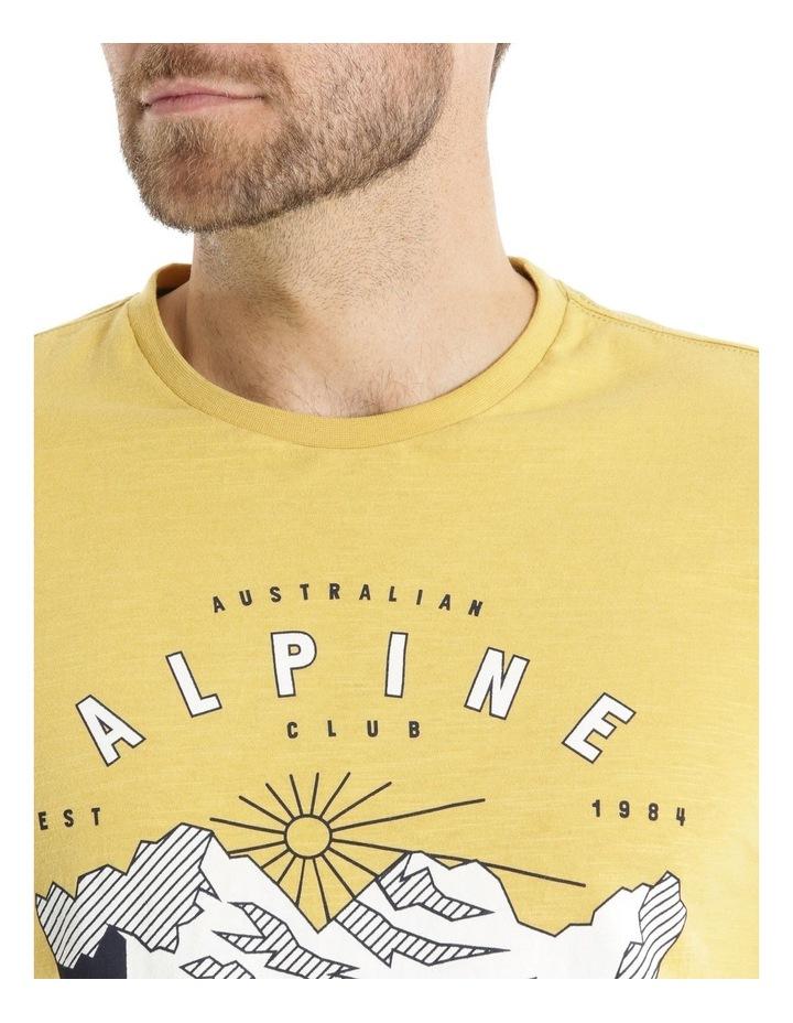 Alpine Slub Jersey Print Tee image 4