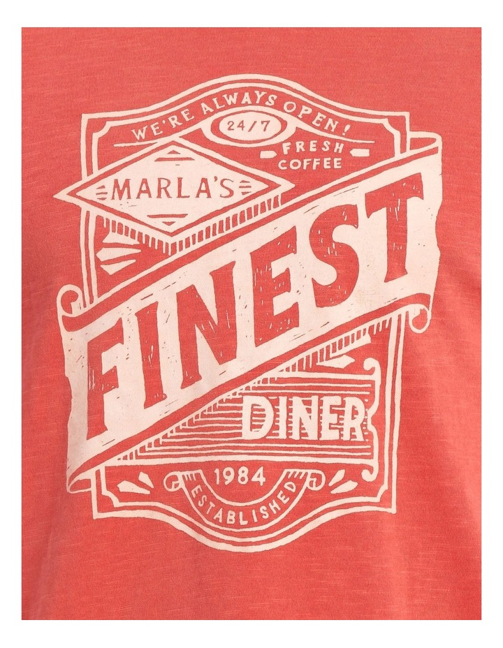 Marla Garment Dye Print Tee image 4