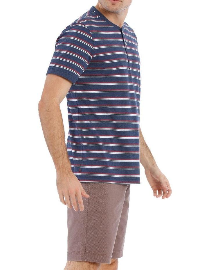 Birling Stripe Henley Tee image 2