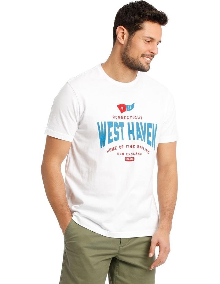 Flag Print T-Shirt image 2