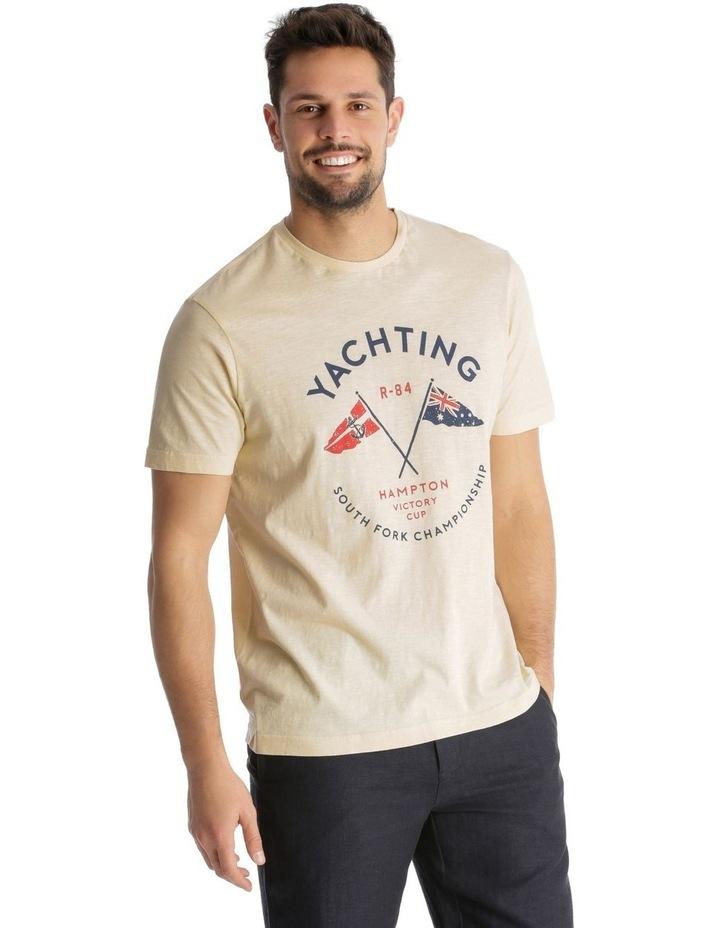 Yachting Print T-Shirt image 1