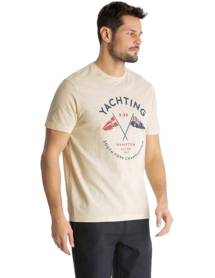 Yachting Print T-Shirt image 2