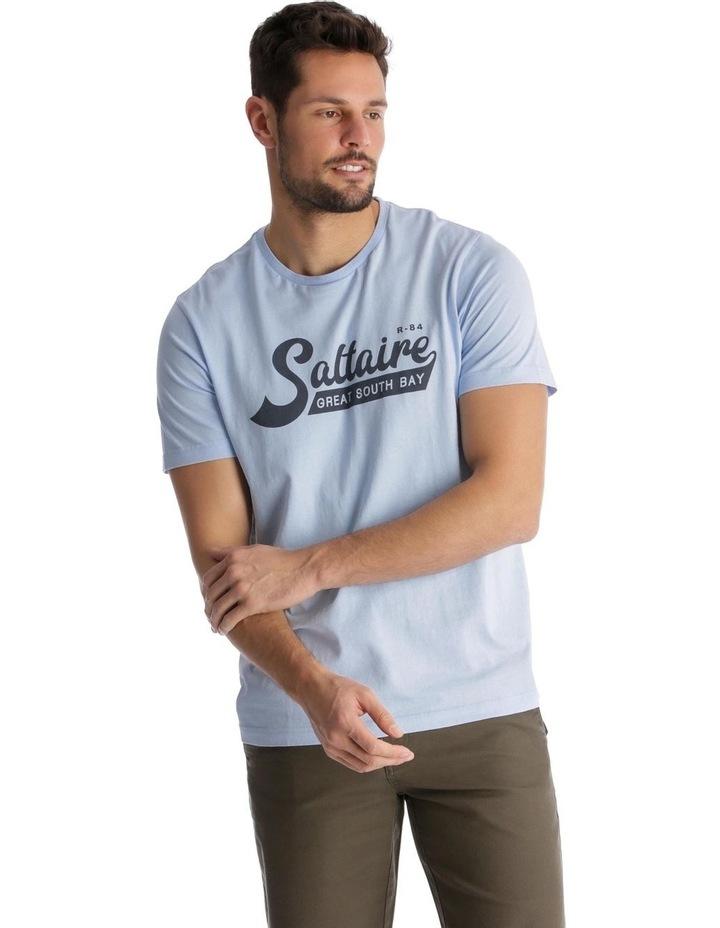 Saltaire Marina Print T-Shirt image 1