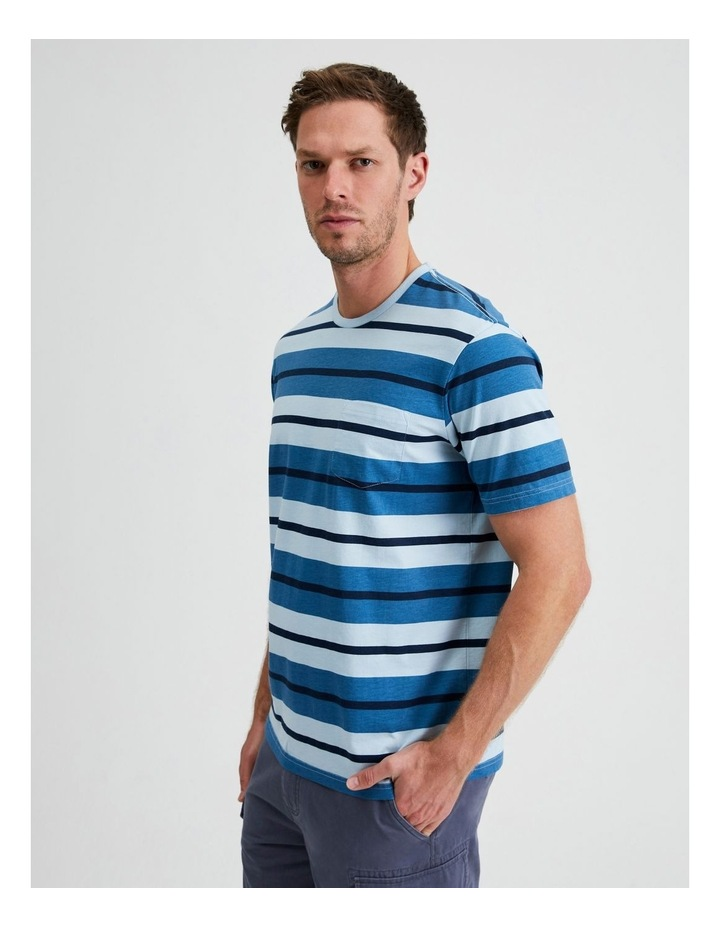 Live by the Ocean Stripe Tee image 2