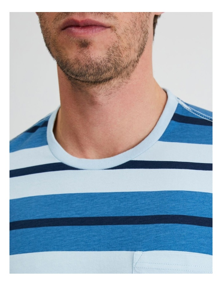 Live by the Ocean Stripe Tee image 5