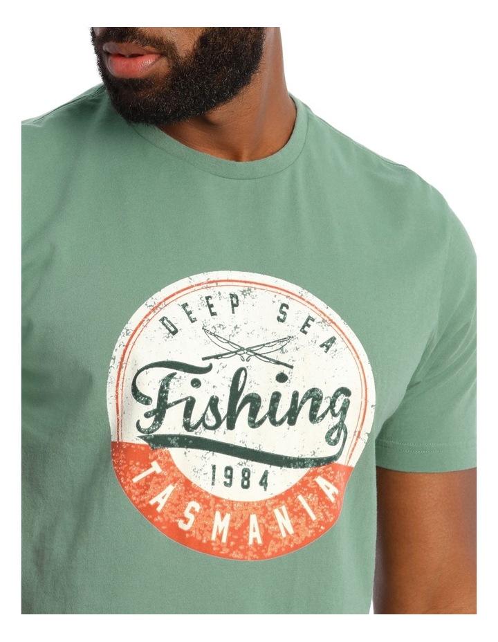 Deep Sea Fishing Tasmania Graphic Tee image 4