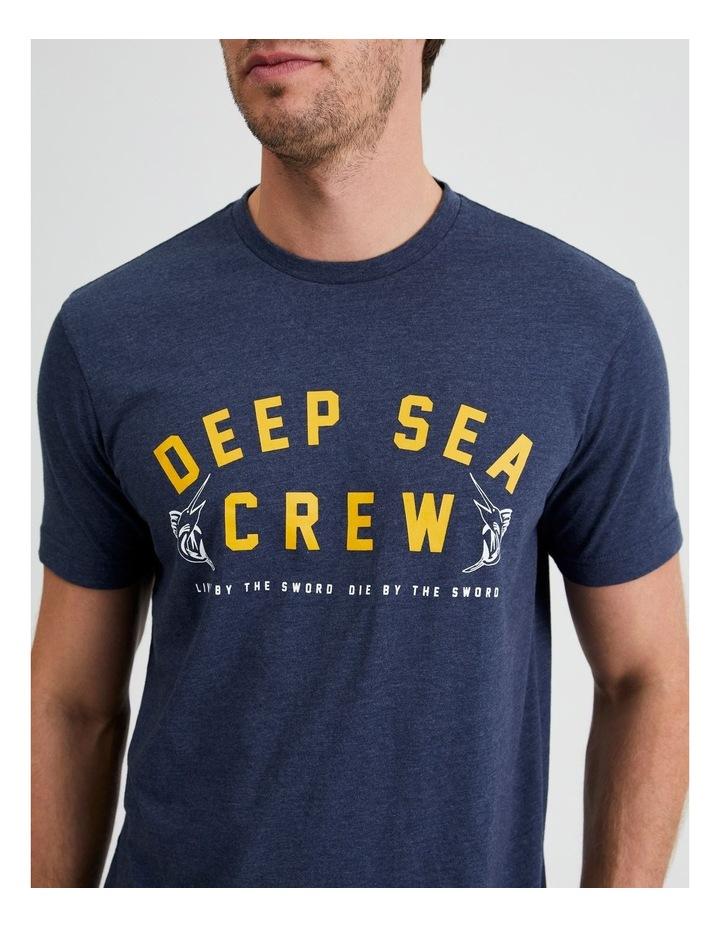 Deep Sea Crew Graphic Tee image 5