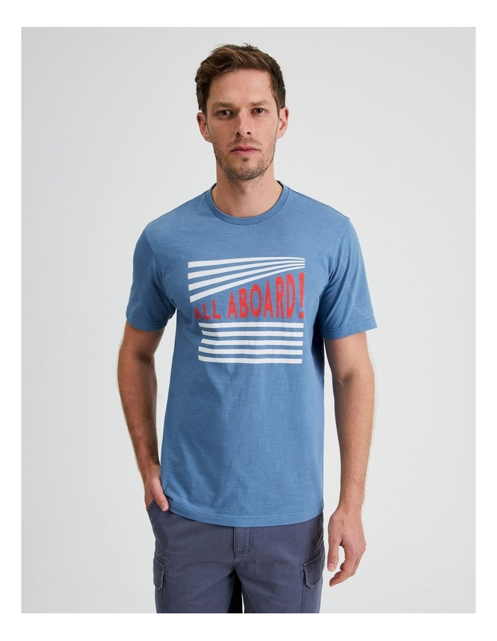 All Aboard Graphic Tee image 1