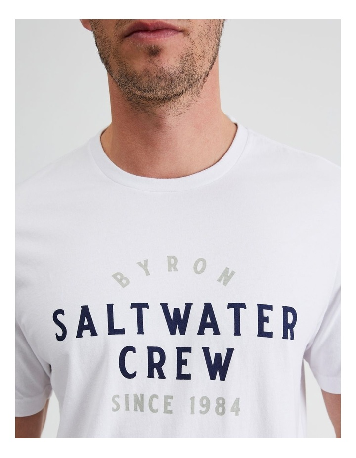 Byron Saltwater Crew Graphic Tee image 5