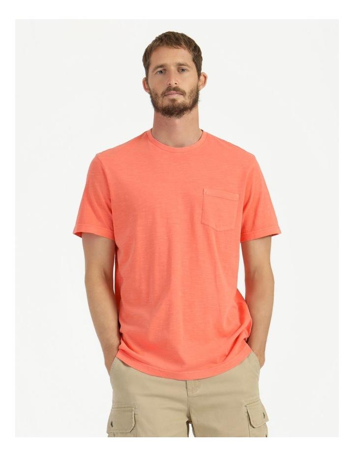 Sunset Garment Dye Tee Coral image 3