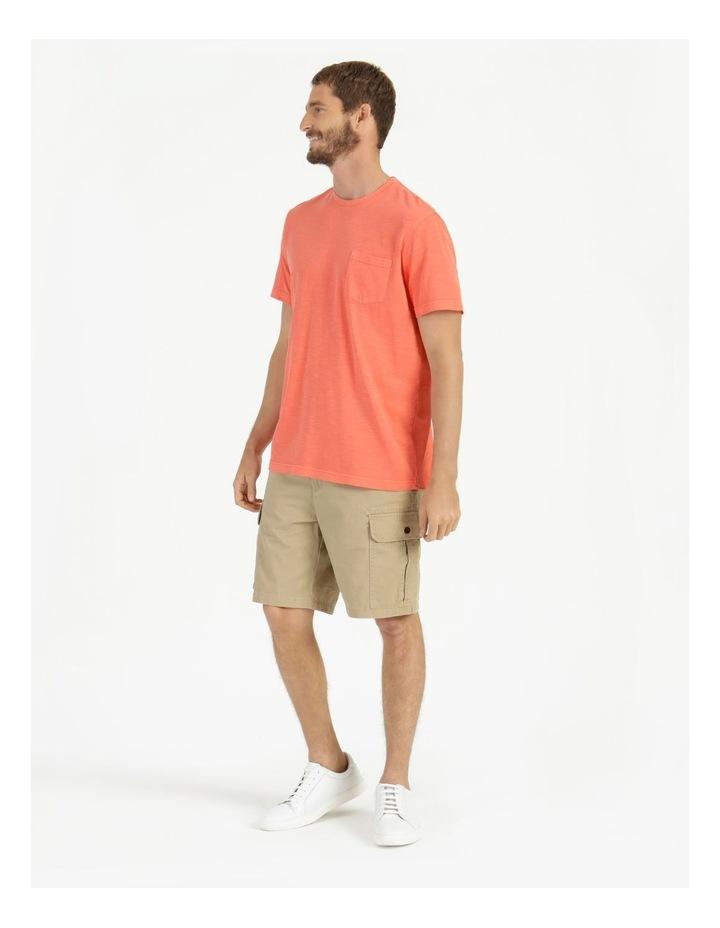 Sunset Garment Dye Tee Coral image 5