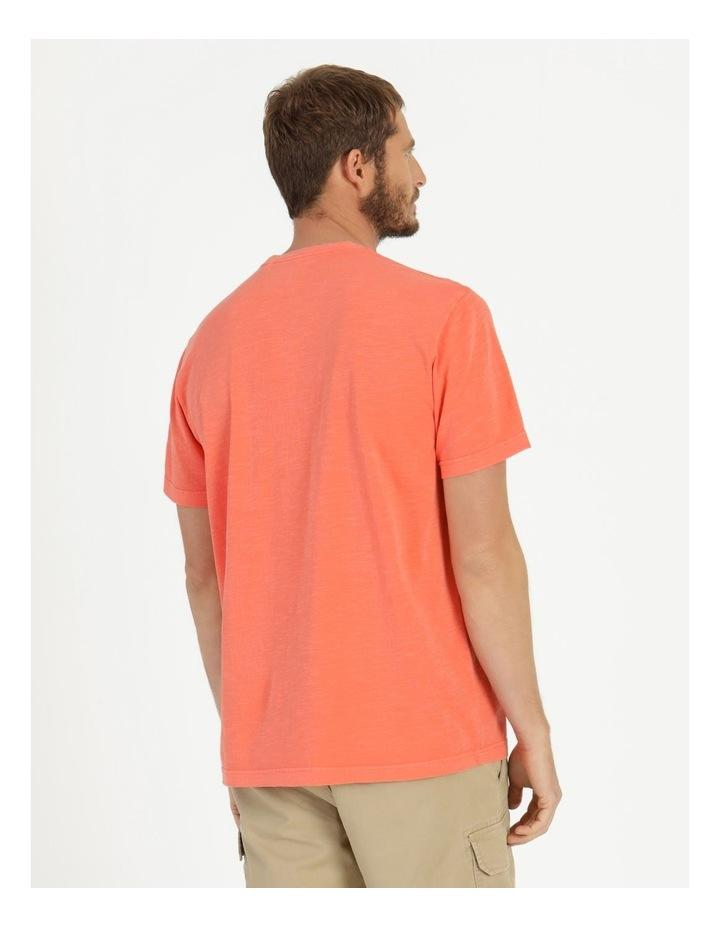 Sunset Garment Dye Tee Coral image 6