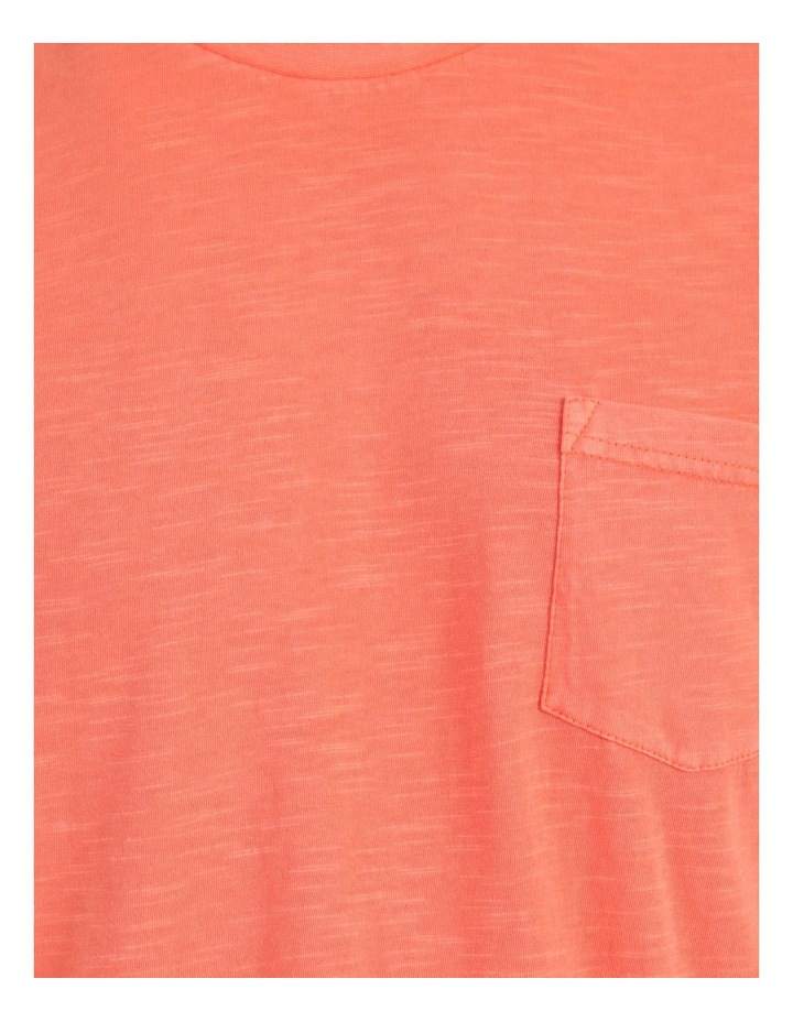 Sunset Garment Dye Tee Coral image 7