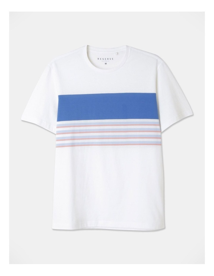 Harrison Yarn Dyed Chest Stripe T-Shirt image 1