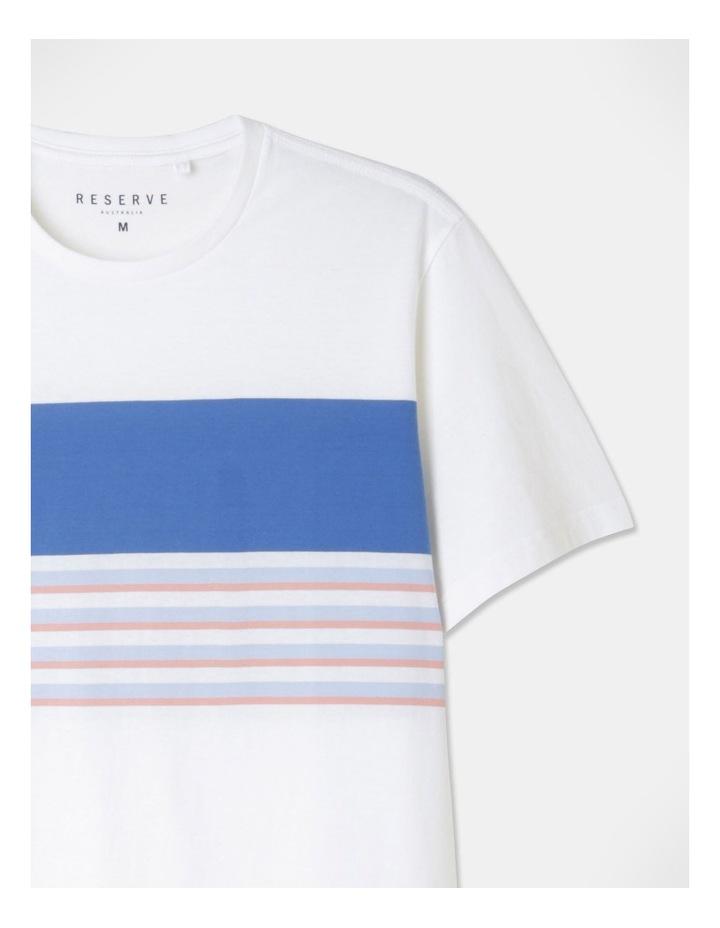 Harrison Yarn Dyed Chest Stripe T-Shirt image 2
