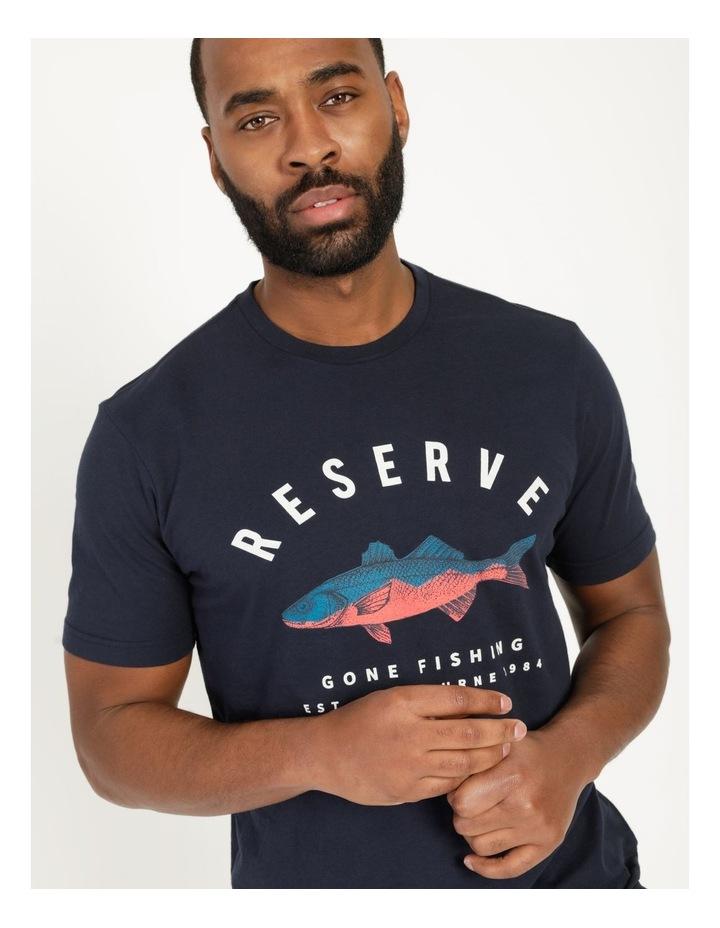 Gone Fishing Graphic T-Shirt image 1