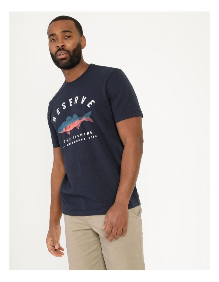 Gone Fishing Graphic T-Shirt image 5