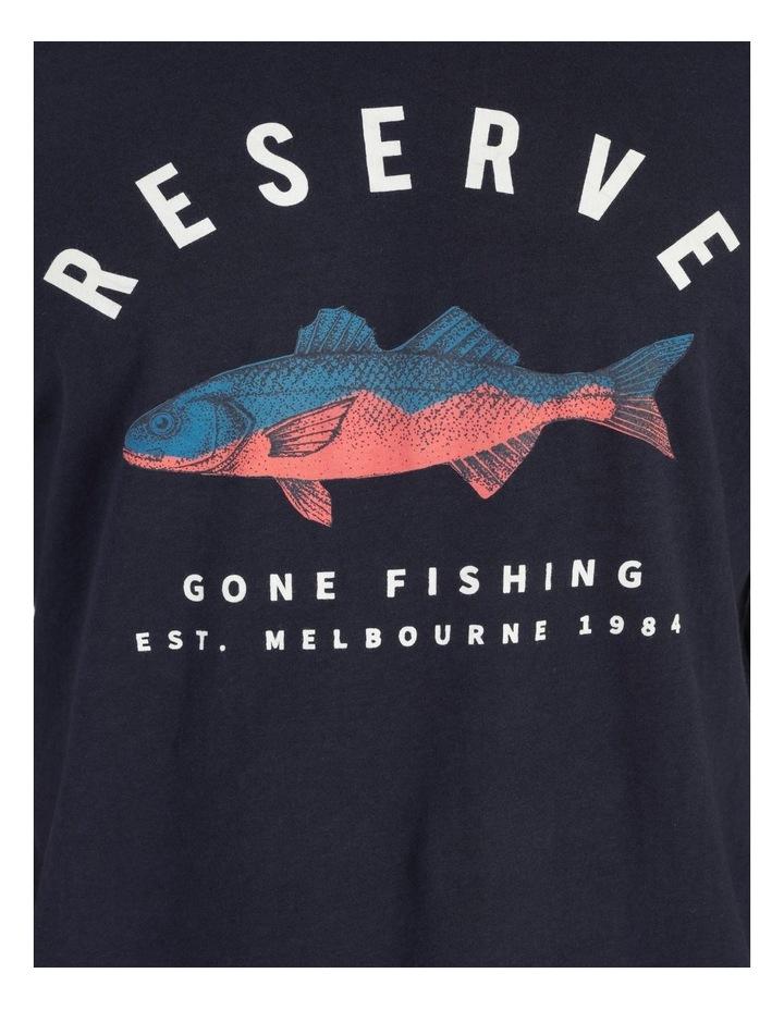 Gone Fishing Graphic T-Shirt image 7