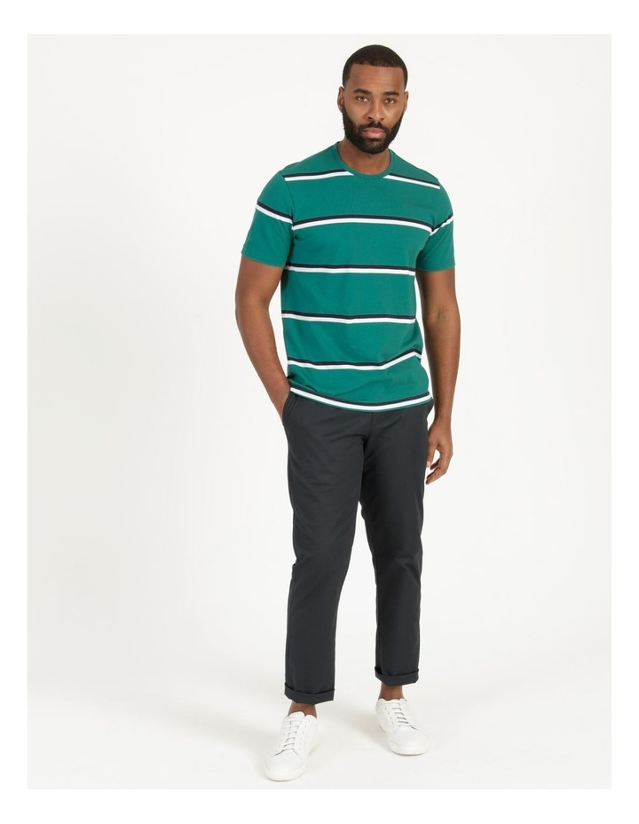 Live By The Ocean Print Stripe T-Shirt image 3