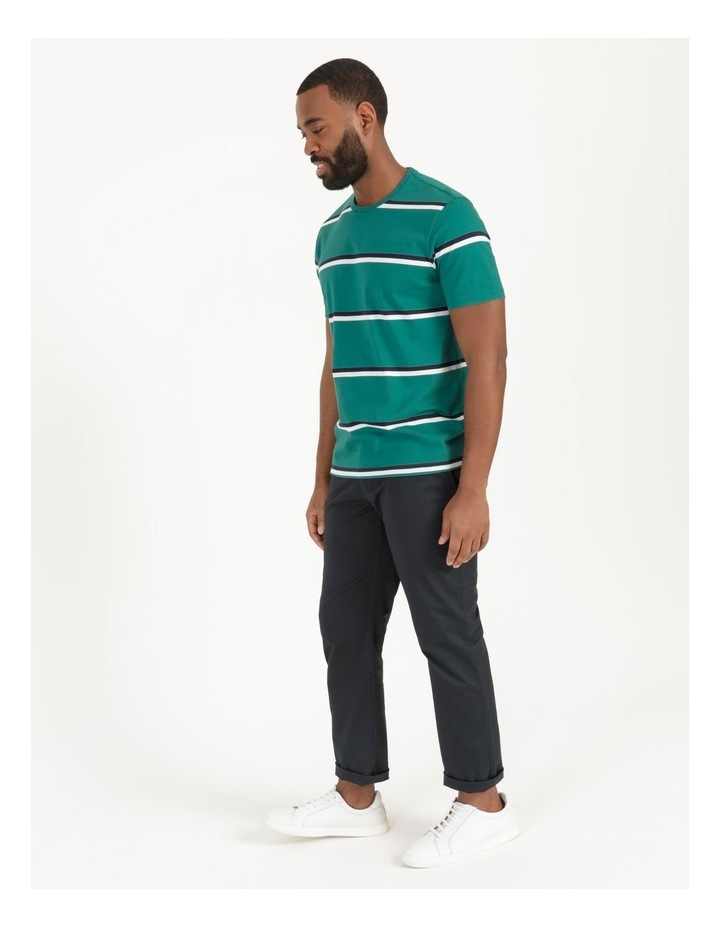Live By The Ocean Print Stripe T-Shirt image 5