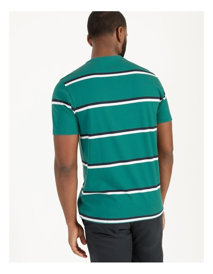 Live By The Ocean Print Stripe T-Shirt image 6