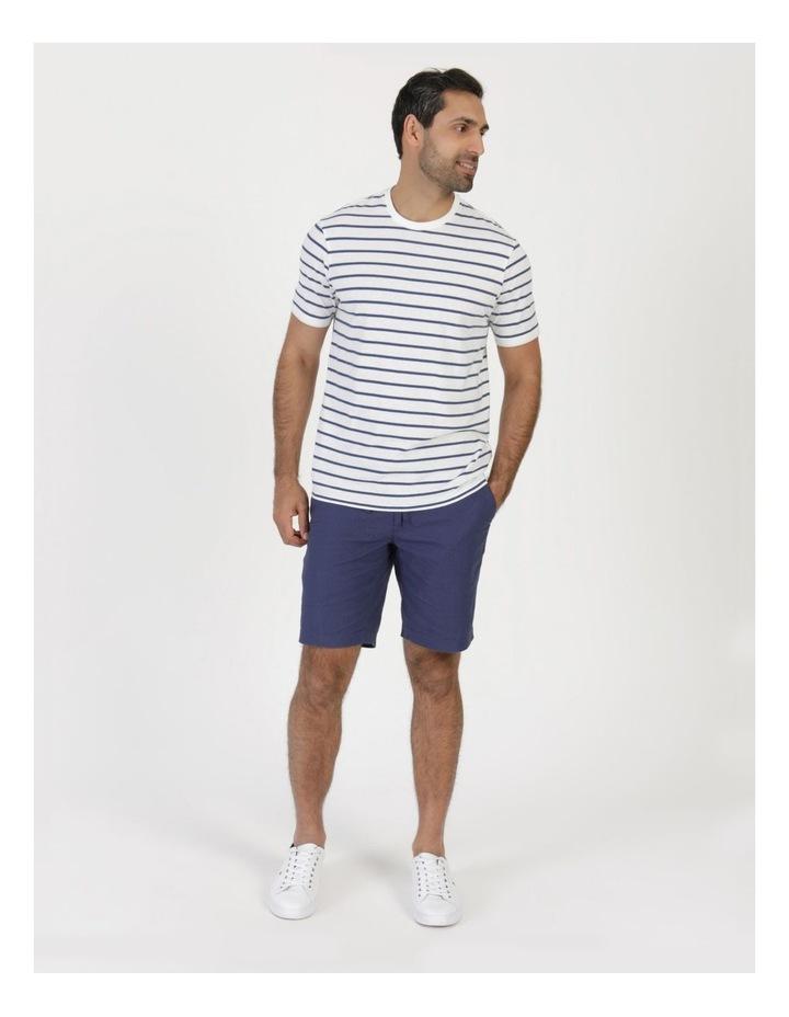 Eddie Indigo Stripe Yarn Dyed T-Shirt image 3