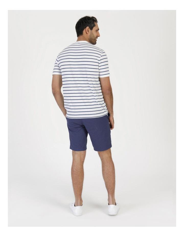 Eddie Indigo Stripe Yarn Dyed T-Shirt image 5