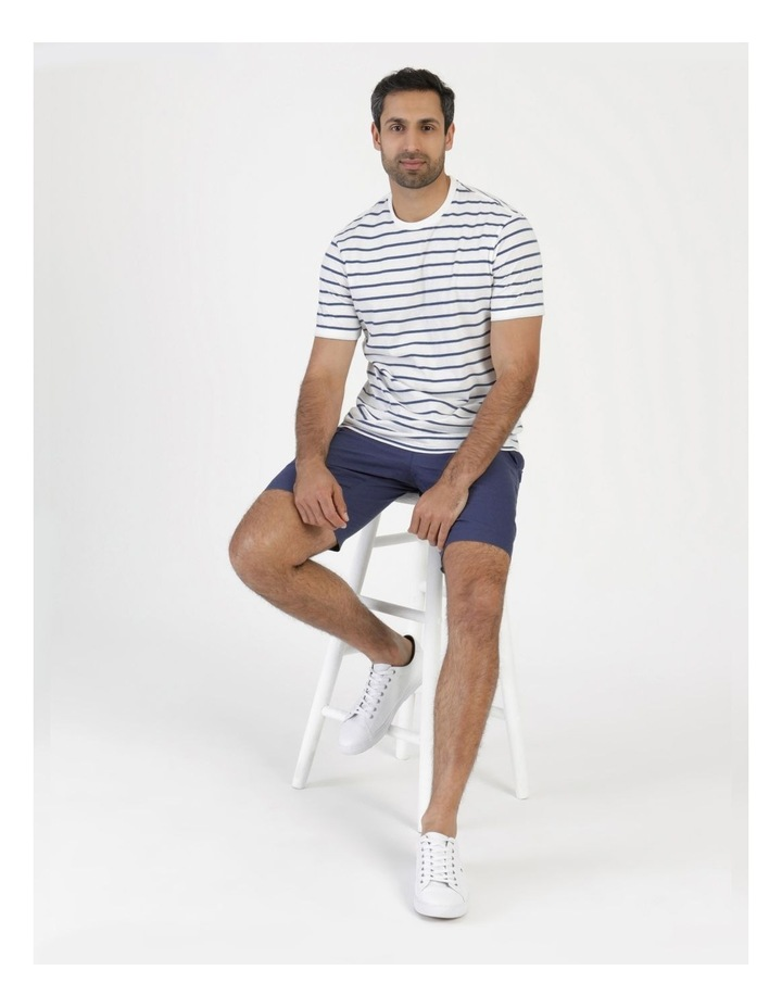 Eddie Indigo Stripe Yarn Dyed T-Shirt image 6