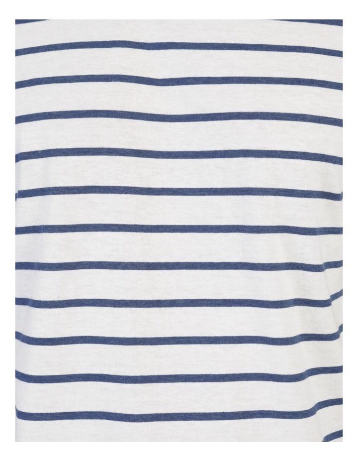 Eddie Indigo Stripe Yarn Dyed T-Shirt image 7